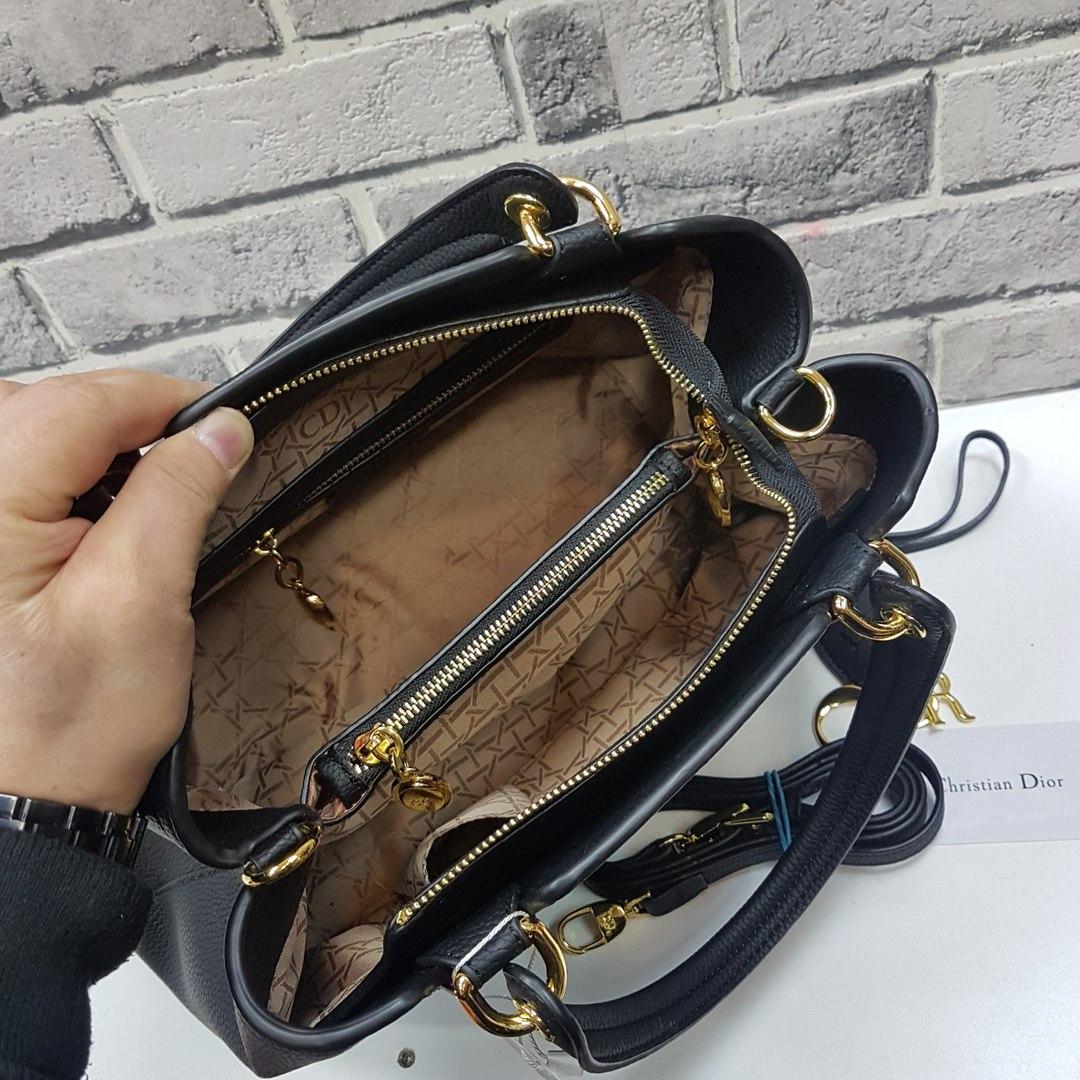 Мужская черная текстильная дорожная сумка с кожаной